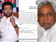 चिराग पासवान ने फिर लिखा CM नीतीश को खत, जानिए... उन्हें अब क्या चाहिए?