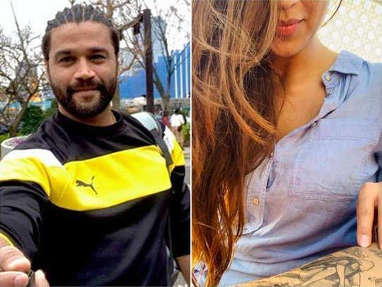 Balraj Syal With Mystery Girl