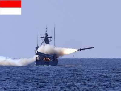 साउथ चाइना सी में इंडोनेशिया का युद्धाभ्यास
