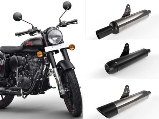 Royal Enfield Classic 350 silencers