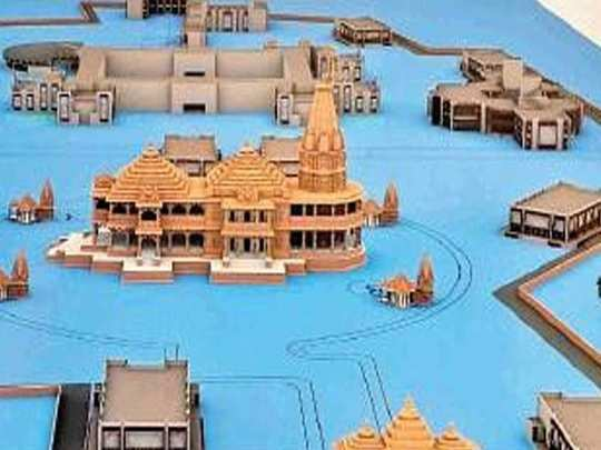 ayodhya mandir model