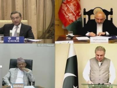 चीन के विदेश मंत्री ने पाकिस्तान, नेपाल, अफगानिस्तान के साथ की बैठक