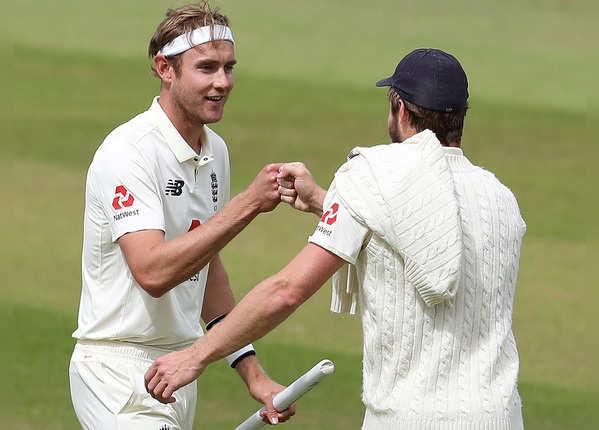 ब्रॉड का जलवा. मैच में झटके 10 विकेट