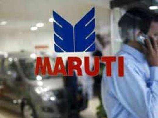 सूचीबद्ध होने के बाद मारुति को पहली बार हुआ है घाटा।
