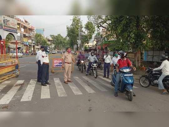 एक अगस्त से देश में अनलॉक-3 : अलवर में लगा लॉकडाउन , भारी पुलिस बल तैनात जानिए वजह