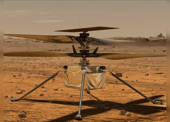 पृथ्वी से बाहर पहली बार उड़ेगा हेलिकॉप्टर Ingenuity