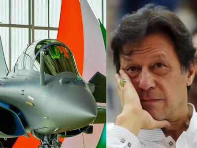 राफेल जेट के आते ही भड़का पाकिस्तान
