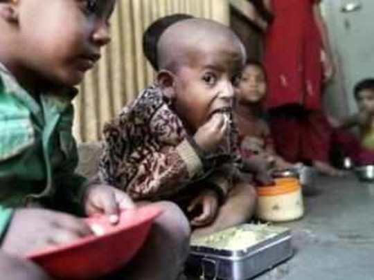 लाखांत ४० बाळांचे कुपोषण