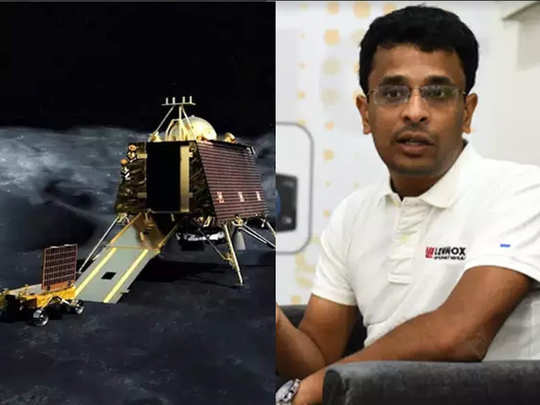 chennai engineer shanmuga subramanian finds possibly intact rover pragyan out of vikram lander on chandryaan2 lunar mission of india