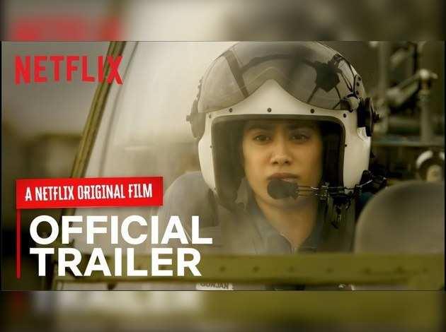 Gunjan Saxena: The Kargil Girl Trailer Out: Janhvi Kapoor drops breathtaking trailer