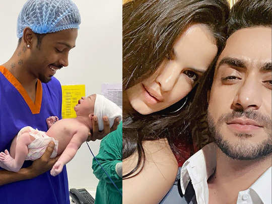 hardik pandya wife natasa stankovic became mother her ex boyfriend aly goni responds on social media
