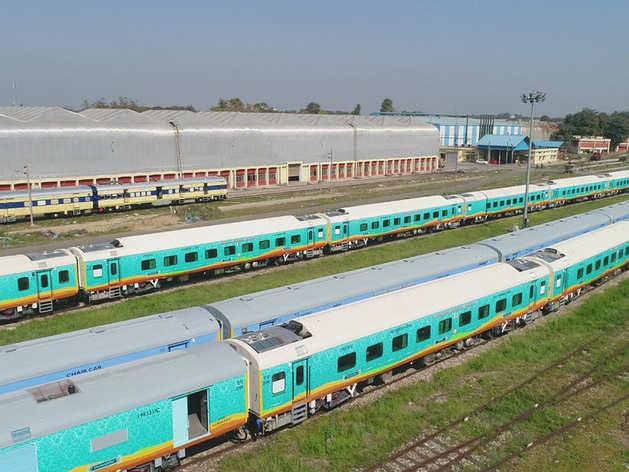 कोरोना काल में रेलवे ने बनाया नया रेकॉर्ड, 3 गुना एलएचबी कोच का किया प्रोडक्शन