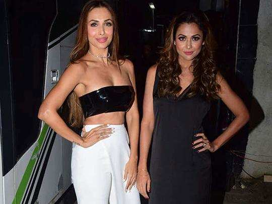 Malaika Arora And Amrita Arora