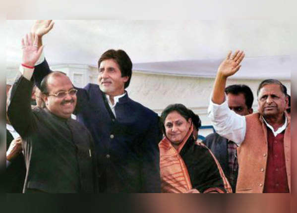 Amar Singh who brought Jaya Bachchan into politics