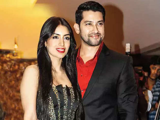 Aftab Shivdasani and his wife Nin Dusanjh