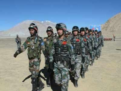 भारत और चीन की सेना