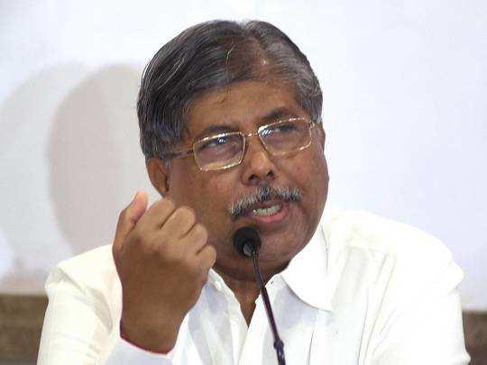 भाजप प्रदेशाध्यक्ष चंद्रकांत पाटील