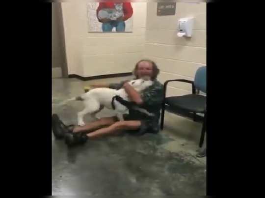 Homeless Man Reunites With His Dog