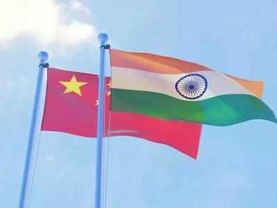 भारत-चीन के बीच बातचीत।