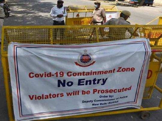 delhi-containment-zone