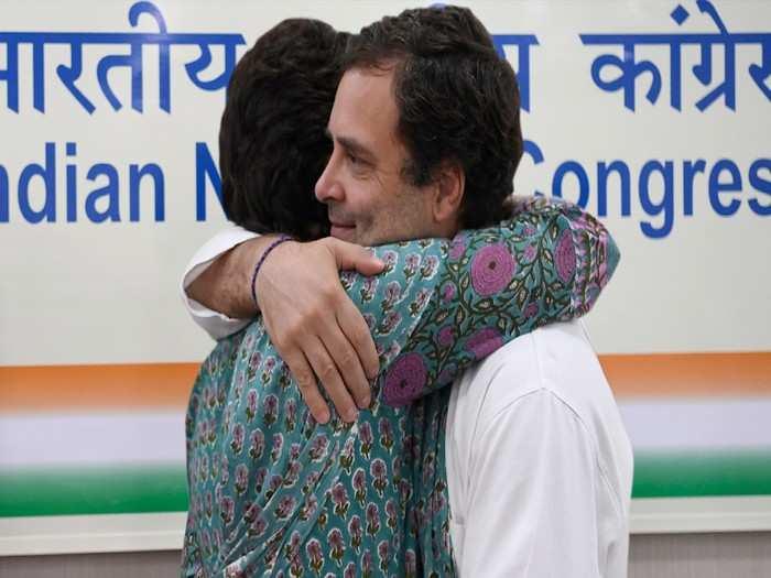 happy rakasha bandhan congress leader priyanka gandhi share emotional messages for rahul gandhi