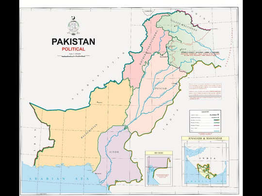 पाकिस्तान मैप