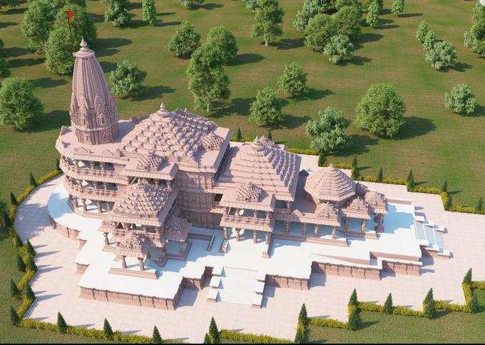 సర్వాంగ సుందరంగా అయోధ్య రామ మందిరం