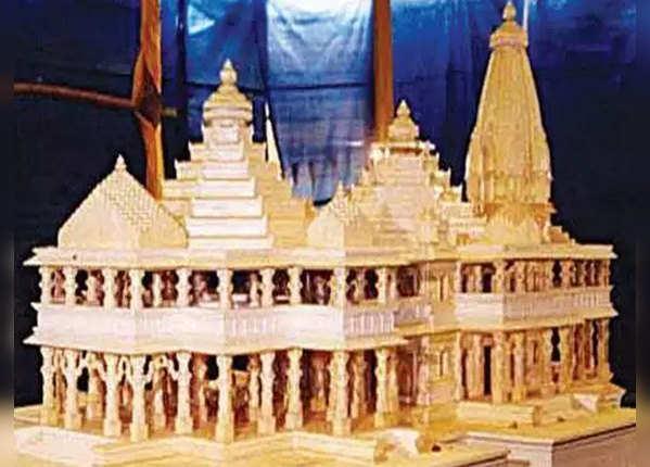 वीएचपी के राम मंदिर मॉडल का किस्सा