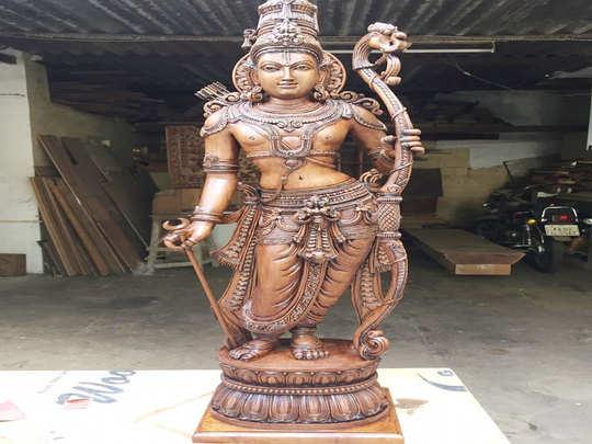 पीएम को दी जाएगी यह राम का प्रतिमा
