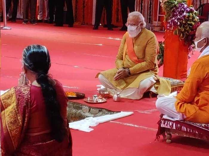 see all photos related to ram mandir bhoomi poojan ayodhya