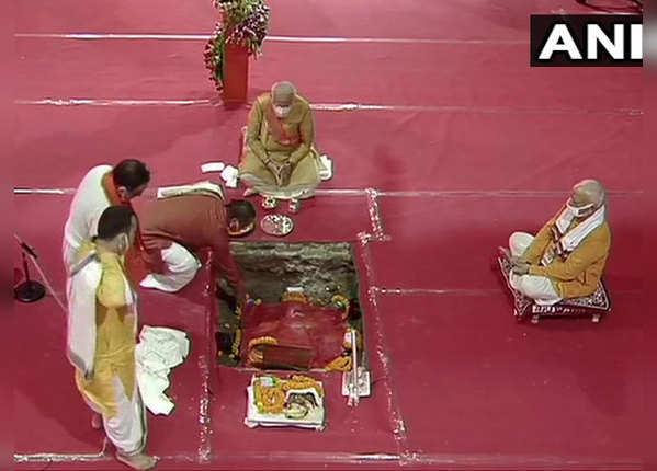 शिलान्यास के लिए अयोध्या में की गई बड़ी तैयारी