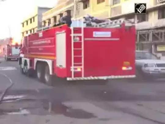 रुग्णालयात आग, ८ रुग्णांचा मृत्यू