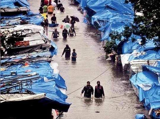mumbai rainfall latest updates people facing flood like situation