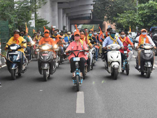 bike rally for ram mandir