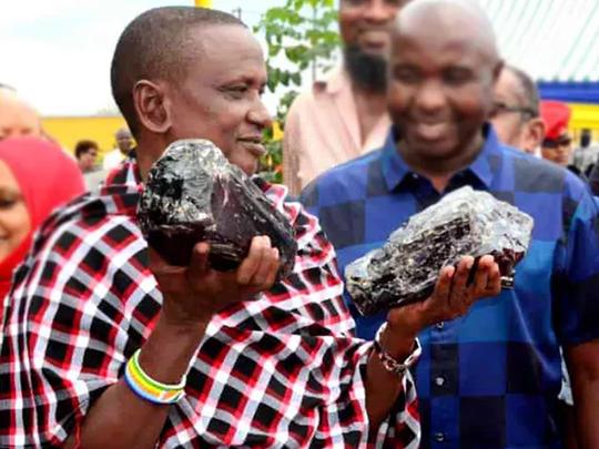 miner in Tanzania