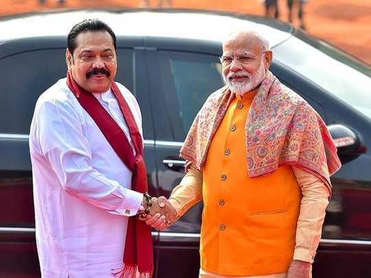 PM Modi and Mahinda rajapaksa