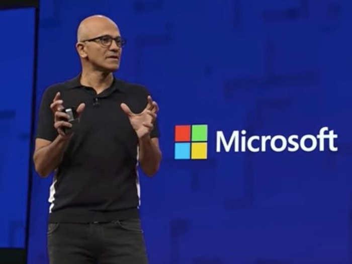 Microsoft-Satya-Nadella