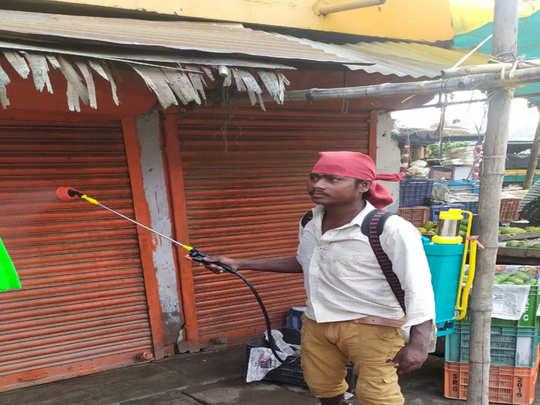 naubatpur nagar panchayat is fighting with corona virus