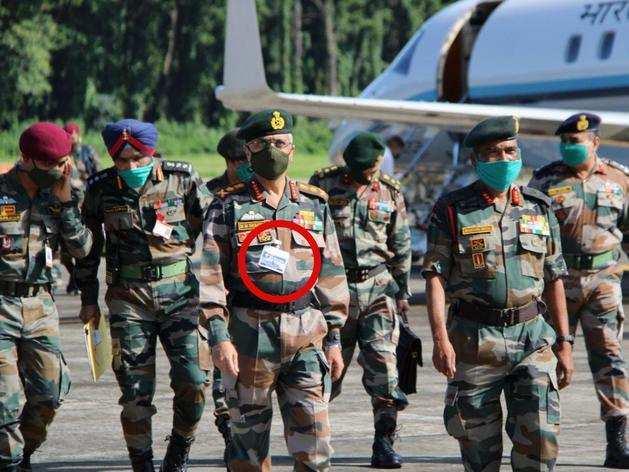 सेना प्रमुख जनरल एमएम नरवणे।