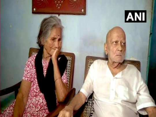 parents of Wg Cdr sathe