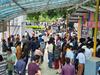 UP BEd JEE 2020: परीक्षा सेंटर पर सोशल डिस्टेंसिंग की उड़ीं धज्जियां, कई ने छोड़ी बीएड प्रवेश परीक्षा