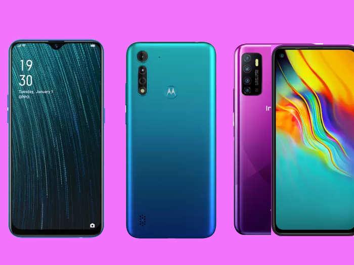 smartphone under 10000 rupees