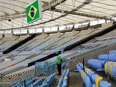 10 खिलाड़ियों को कोरोना- ब्राजील में फुटबॉल मैच टला