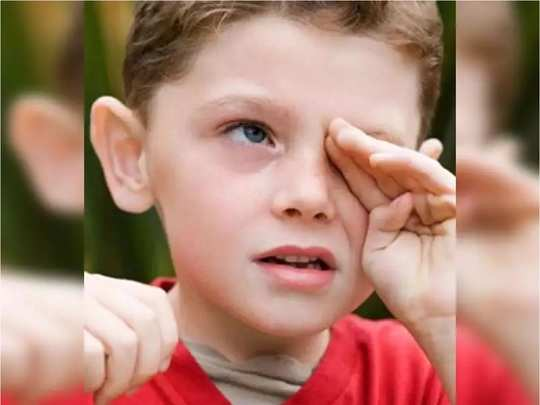what to eat to increase eye vision in kids in hindi