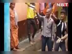 रोहतास में रोड फाइट का वीडियो वायरल, हिंसक झड़प में 10 लोग घायल