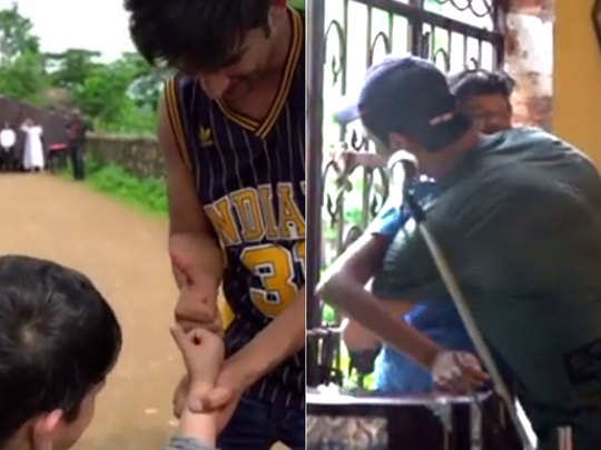 sushant singh rajput was the man with a golden heart viral video is proof
