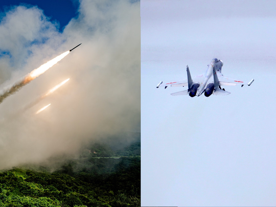 south china sea china sends fighter jet taiwan fired missiles