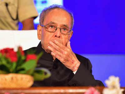 पूर्व राष्ट्रपति प्रणब मुखर्जी। (फाइल फोटो)