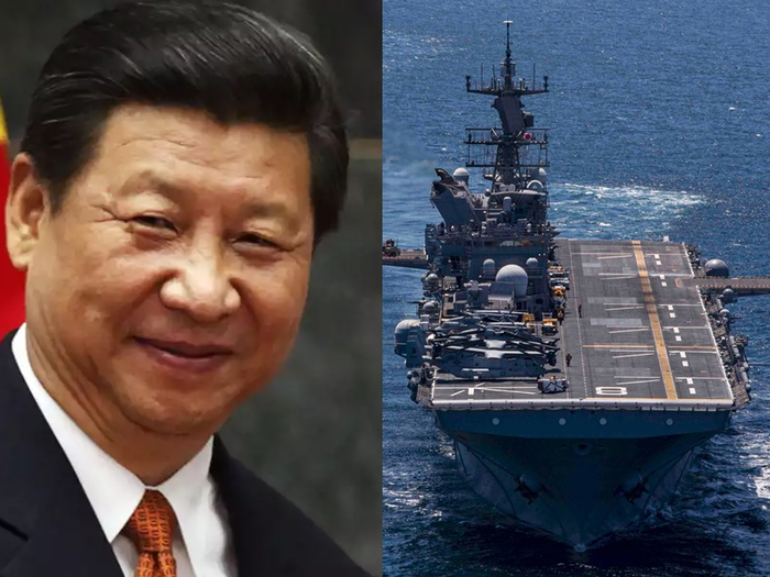 south china sea china told military not to fire first shot in stand off with us forces