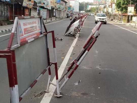 Divider in Thiruvalla